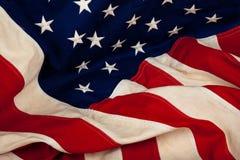 Achtergrond van de Amerikaanse vlag van Verenigde Staten Stock Foto