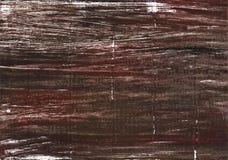 Achtergrond van de Bistre de abstracte waterverf Stock Afbeelding