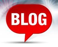 Achtergrond van de blog de Rode Bel royalty-vrije illustratie