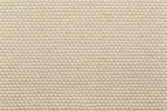 Achtergrond van de canvas de natuurlijke beige textuur Royalty-vrije Stock Foto