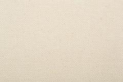 Achtergrond van de canvas de natuurlijke beige textuur Royalty-vrije Stock Foto's