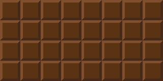 Achtergrond van de chocoladereep de gehele melkchocola royalty-vrije illustratie