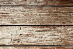 Achtergrond van de close-up de openlucht oude houten grond Royalty-vrije Stock Fotografie