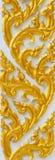 Thaise de stijlachtergrond van de kunst in tempel Stock Afbeelding