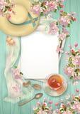Achtergrond van de de lente de Hoogste Mening Royalty-vrije Stock Fotografie
