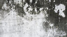 Achtergrond van de de muurtextuur van het Grunge de witte en grijze cement Stock Fotografie