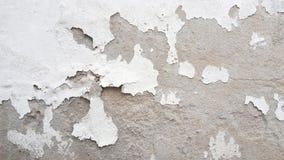 Achtergrond van de de muurtextuur van het Grunge de witte en grijze cement Royalty-vrije Stock Foto's