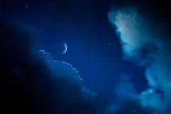 Achtergrond van de de nachthemel van de kunst de abstracte stock foto's