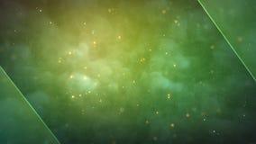 Achtergrond van de deeltjes de naadloze ruimtemotie stock videobeelden
