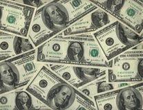 Achtergrond van de dollarrekeningen van de V.S. Stock Afbeelding