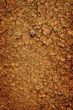 Achtergrond van de droge uitgedroogde grond van het aardevuil Stock Afbeelding