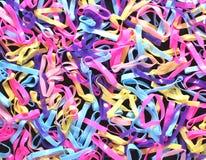 Achtergrond van de elastiekjes de abstracte kunst Royalty-vrije Stock Foto