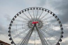 Achtergrond van de Ferris de grote Hemel Royalty-vrije Stock Afbeeldingen
