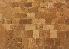 Achtergrond van de foto van de bakstenen muurtextuur Royalty-vrije Stock Fotografie