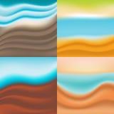 Achtergrond van de golven Stock Afbeeldingen