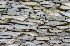 Achtergrond van de grijze textuur van de steenmuur Stock Afbeelding
