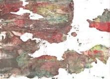 Achtergrond van de Grullo de abstracte waterverf Stock Afbeeldingen