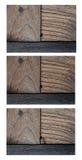 Achtergrond van de Grunge de donkere houten textuur Stock Afbeeldingen