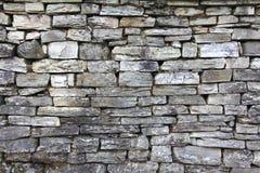 Achtergrond van de Grunge de grijze bakstenen muur Royalty-vrije Stock Foto