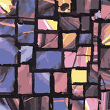Achtergrond van de Grunge de vector naadloze textuur Royalty-vrije Stock Foto's