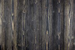 Achtergrond van de Grunge de houten lijst Zwarte textuur van de Sunface de houten plank royalty-vrije stock foto