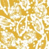 Achtergrond van de herfstbladeren Royalty-vrije Illustratie
