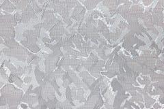 Achtergrond van de het gordijntextuur van Grey Fabric de blinde Royalty-vrije Stock Afbeelding
