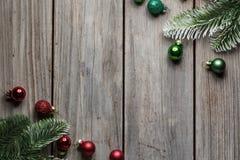 Achtergrond van de het houtlijst van Kerstmisdecoratie de oude voor grafisch en Webontwerp, Modern eenvoudig Internet-concept In  stock afbeeldingen