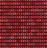 Achtergrond van de het patroon de rode purpere oppervlakte van de kubus Royalty-vrije Stock Afbeeldingen