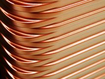 Achtergrond van de het patroontextuur van de close-up de metaalbagage stock fotografie