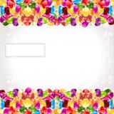Achtergrond van de het suikergoedcirkel van de kleurenregenboog de glanzende Stock Afbeeldingen