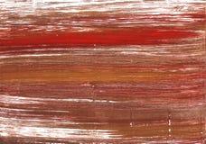 Achtergrond van de kastanje de abstracte waterverf royalty-vrije stock afbeeldingen