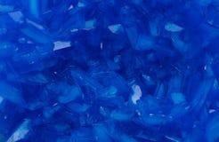 Achtergrond van de kristallen van het kopersulfaat Royalty-vrije Stock Foto