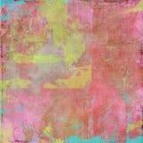 Achtergrond van de Kunstenaar van het water de kleur geschilderde Royalty-vrije Stock Afbeelding
