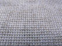 Achtergrond van de linnen de textieltextuur Stock Foto