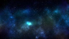 Achtergrond van de melkweg de ruimtenevel Stock Foto's