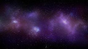 Achtergrond van de melkweg de ruimtenevel stock foto