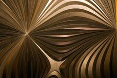 Achtergrond van de metaal de moderne 3d Structuur Royalty-vrije Stock Afbeeldingen