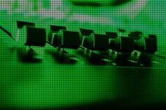 Achtergrond van de mixer de lage resolutie Stock Afbeelding