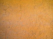 Achtergrond van de muur van de barstklei Stock Foto