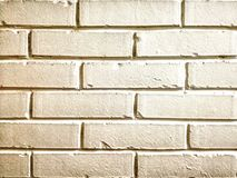 Achtergrond van de muur de witte baksteen royalty-vrije stock afbeelding