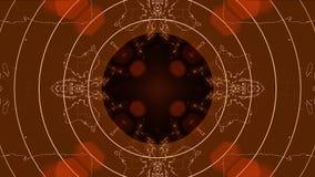 Achtergrond van de de opeenvolgings multicolored grafiek van de caleidoscoop de naadloze lijn stock videobeelden