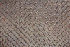 Achtergrond van de dekking van het metaalmangat Stock Foto
