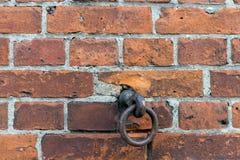 Achtergrond van de oude textuur van het bakstenen muurpatroon royalty-vrije stock foto
