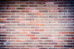 Achtergrond van de oude textuur van de grungebakstenen muur Stock Afbeelding