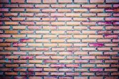 Achtergrond van de oude textuur van de grungebakstenen muur Royalty-vrije Stock Afbeeldingen