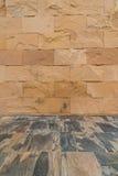 Achtergrond van de oude textuur van de steenmuur Stock Foto's