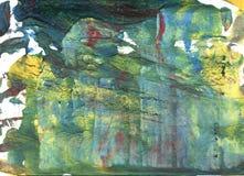 Achtergrond van de Oxley de abstracte waterverf Royalty-vrije Stock Afbeelding