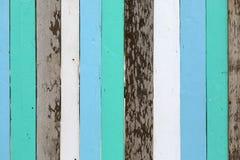 Achtergrond van de pastelkleur de houten muur stock afbeelding