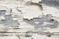 Achtergrond van de Pealings de witte verf Stock Fotografie